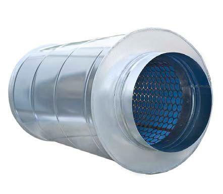 Шумоглушитель для вентиляции